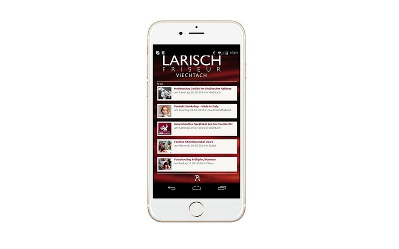 Friseur Salon App - News